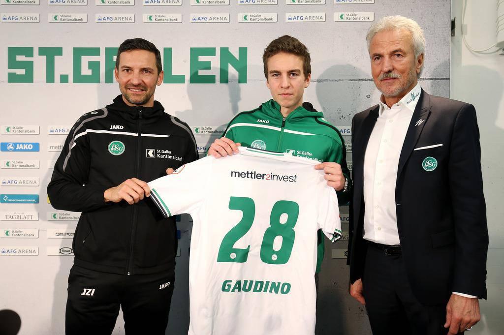 Neu: Gianluca Gaudino von Bayern München
