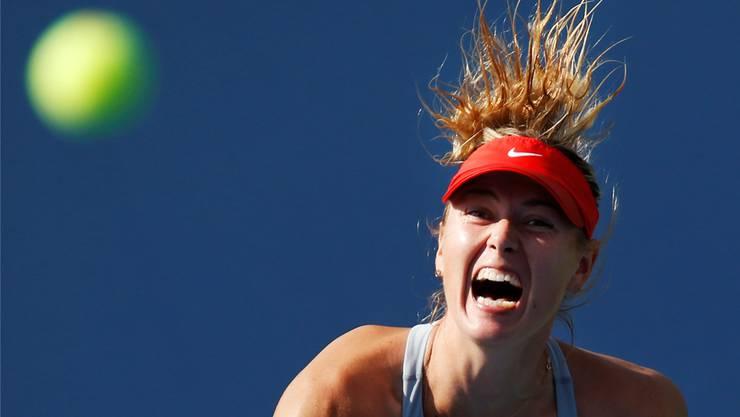 Caroline Wozniacki konzentriert sich wieder ganz auf den Ball und den Sport.