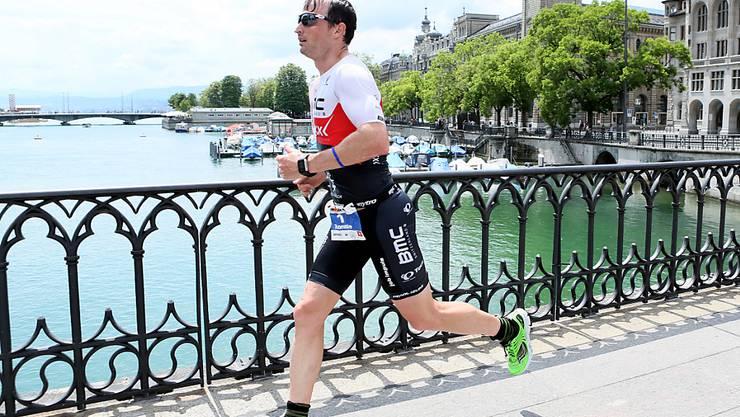 Ronnie Schildknecht strebt am Ironman Switzerland in Zürich den zehnten Sieg an