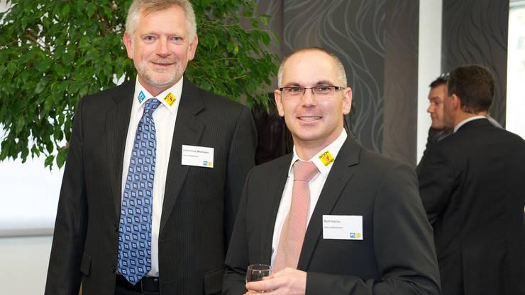Geschäftsleiter Johannes Wiemann (links) und Rolf Heller