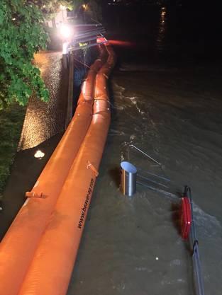 Hochwasser-Alarm in Olten