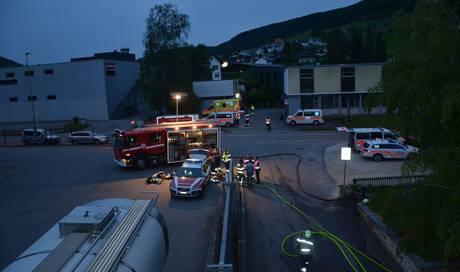 Abendlicher Brand in Asylunterkunft – drei Personen im Spital