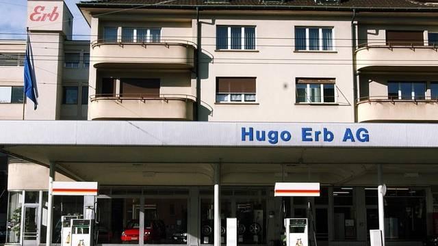 Der ehemalige Hauptsitz der Firmengruppe Erb in Winterthur (Archiv)