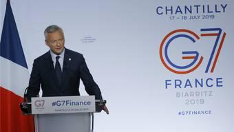 Frankreichs Wirtschaftsminister Bruno Le Maire. Keystone