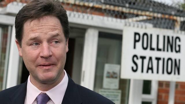Vizepremier und Chef der Liberaldemokraten, Nick Clegg