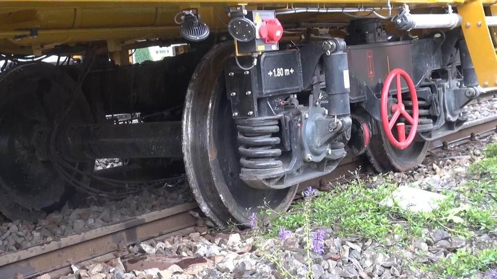 Zugunfall in Busswil zieht Schaulustige an
