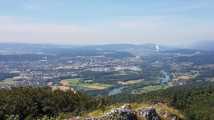 Panorama-Blick von der Gisliflue