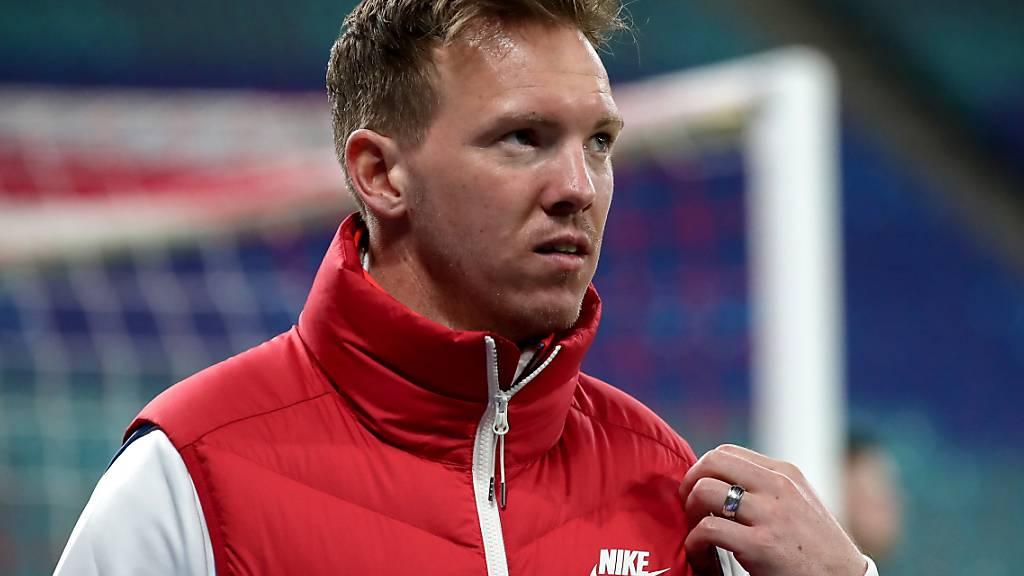 Für den Leipziger Trainer Julian Nagelsmann ist in der Meisterschaft immer noch alles möglich