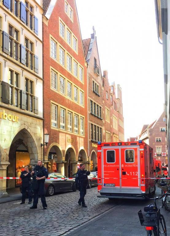 Zwischenfall in Münster (© Keystone)