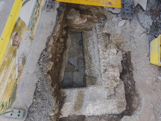 Im Mai wurde das römische Verenabad-Becken freigelegt – die Euphorie ist verflogen.