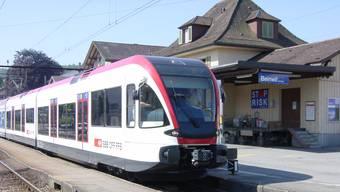 Endstation Beinwil am See: Ein Lokführer der Seetalbahn quittierte am Dienstag seinen Dienst vorzeitig. (Archiv)