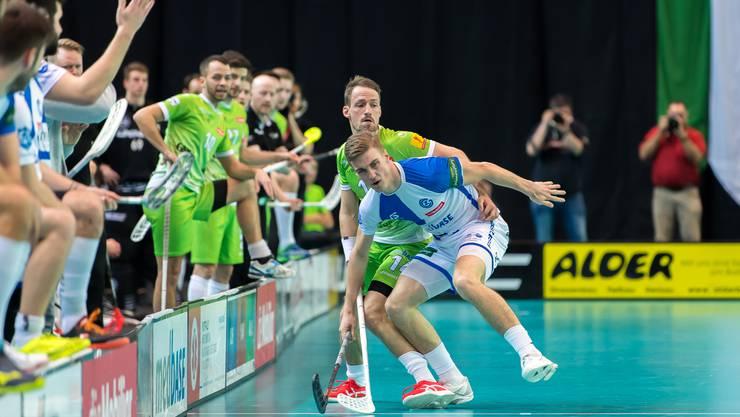GC-Spieler Moritz Mock will am Ball bleiben und hofft, dass er bald wieder fürs Nationalteam aufgeboten wird. (Archivbild)