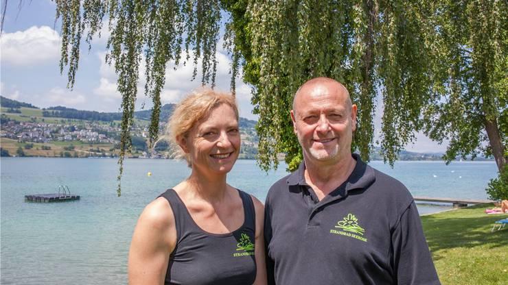 Karin Schmitz und Kurt Leo Freudemann, Pächter der «Seerose» in Meisterschwanden.