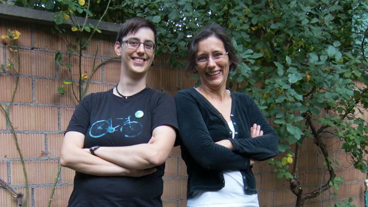 Tonja Zürcher und Heidi Mück