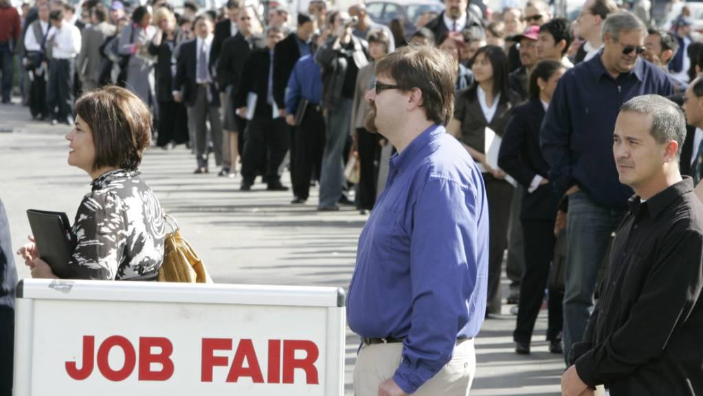 Im September entstanden «nur» 194'000 neue Jobs. (Archivbild)
