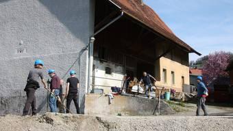 Am 18. August feiert das Freilichttheater Premiere. In Hottwil laufen die Vorbereitungsarbeiten dafür auf Hochtouren.