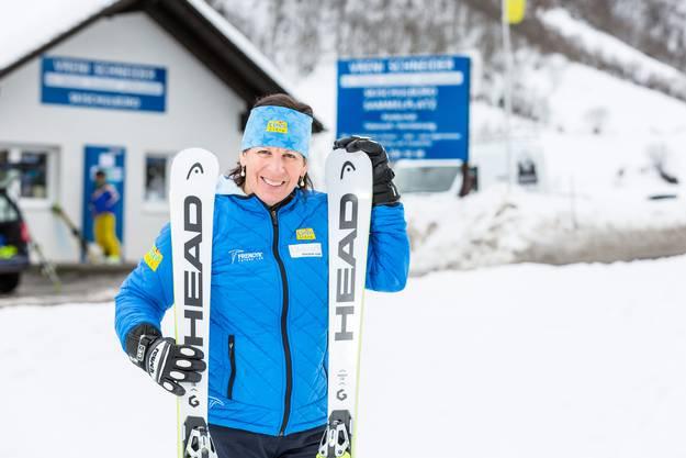 Die ehemalige Schweizer Skirennfahrerin betreibt in ihrem Heimatort Elm erfolgreich eine Skischule und mehrere Läden sowie einen Schneesportmaterialverleih.