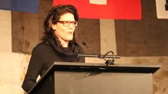 Erste Ansprache von Barbara Horlacher