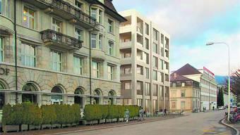 Projekte zu Neubau Wohn- und Geschäftshaus Amthausquai-Jurastrasse in Olten vorgestellt