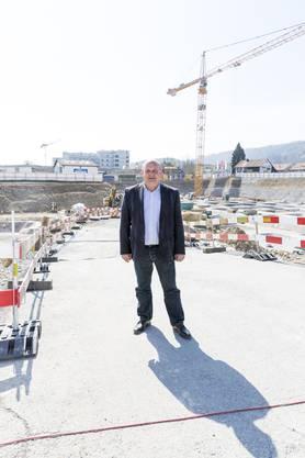 Gemeindepräsident Valentin Schmid bezeichnete das Projekt als Mosaiksteinchen in der Entwicklung Spreitenbachs