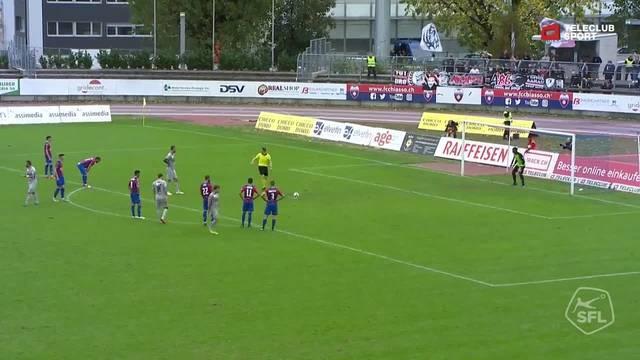 FC Chiasso - FC Aarau: 35. Minute, Stefan Maierhofer, 1:1