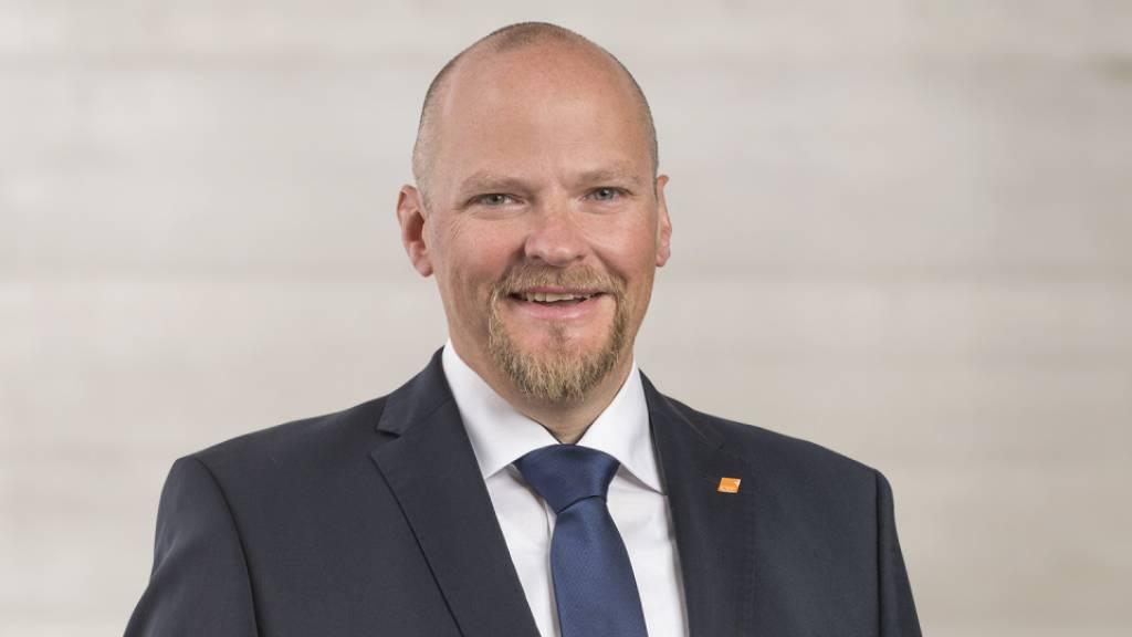 Der Luzerner CVP-Präsident Christian Ineichen sagt zur Zeit nicht, was die Basis über den möglichen neuen Parteinamen Die Mitte Kanton Luzern denkt. (Archivaufnahme)