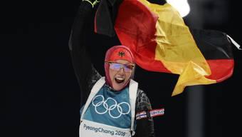 Laura Dahlmeier, die Nummer 1 im Frauen-Biathlon.