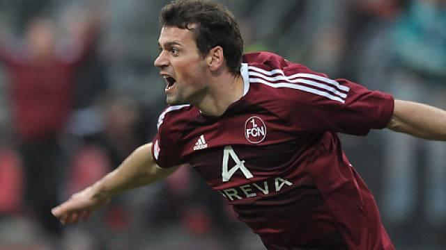 Mit Nürnberg stürmte Albert Bunjaku in der 1. Bundesliga