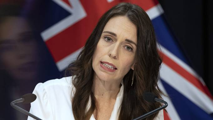 Premierministerin Jacinda Ardern.