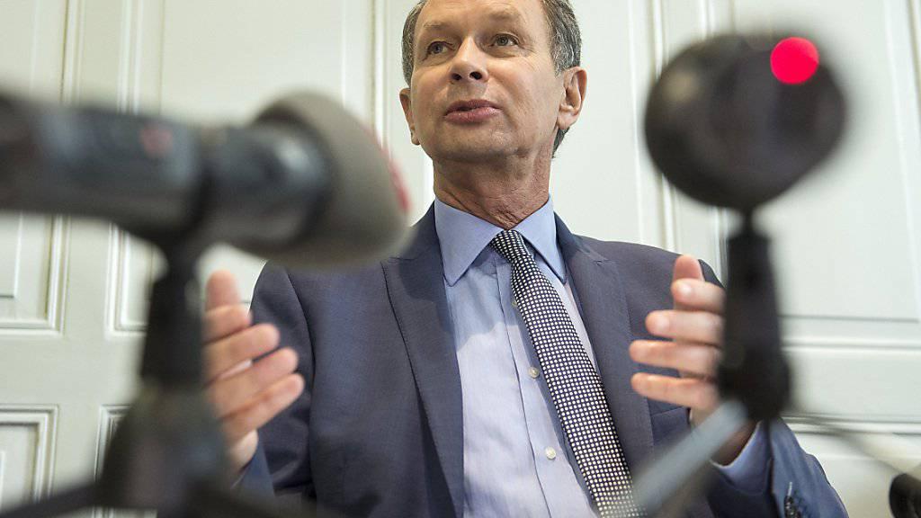 Der scheidende FDP-Parteipräsident Philipp Müller will den Showdown in der Frage um die Bilateralen Verträge.