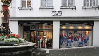 Nach und nach schliessen die OVS-Läden in der Schweiz.