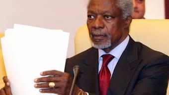 Der Syrien-Sondergesandte Kofi Annan will bis zu 300 UNO-Beobachter in Syrien stationieren (Archiv)