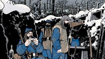 Jacques Tardi beschäftigt sich seit Jahren in verschiedenen Werken mit den Gräueln der Weltkriege in Europa.