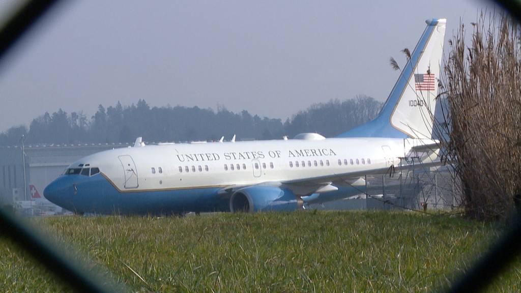 Dienstag, ab 7.45 Uhr: Verfolgen Sie die Landung der Air Force One im Livestream!