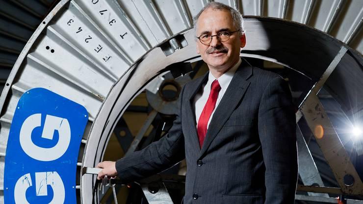 Thomas F. Hauser, CEO von Brugg Cables.Emanuel Freudiger
