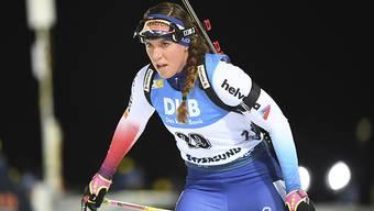 Lena Häcki legte den Podestplatz der Schweizerinnen in trockene Tücher.