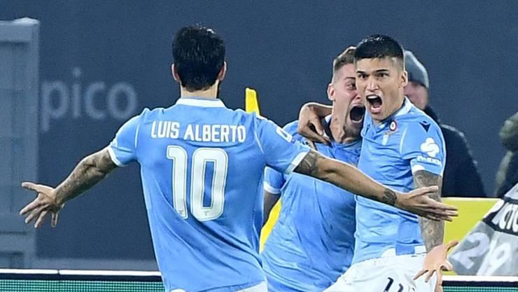 Lazio Rom fügt Meister Juventus Turin die erste Saisonniederlage zu
