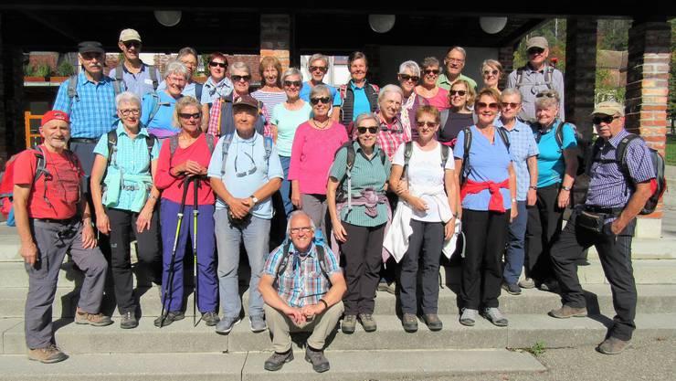 Gruppenfoto bei der Kartause Ittingen