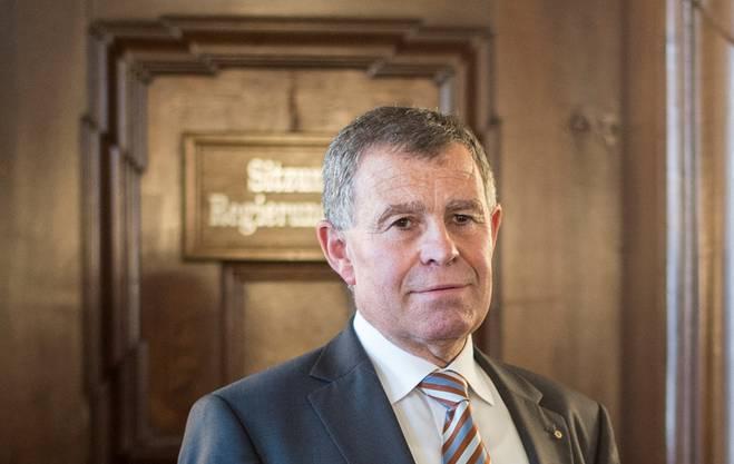 Regierungsrat Ernst Stocker