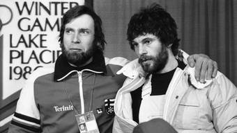 Juha Mieto (links) und der Schwede Thomas Wassberg.