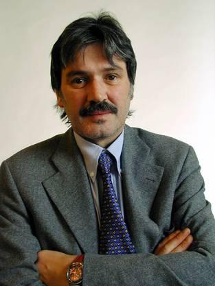 1999 wurde er in den Nationalrat gewählt. Hier ein offizielles Foto aus Bern.