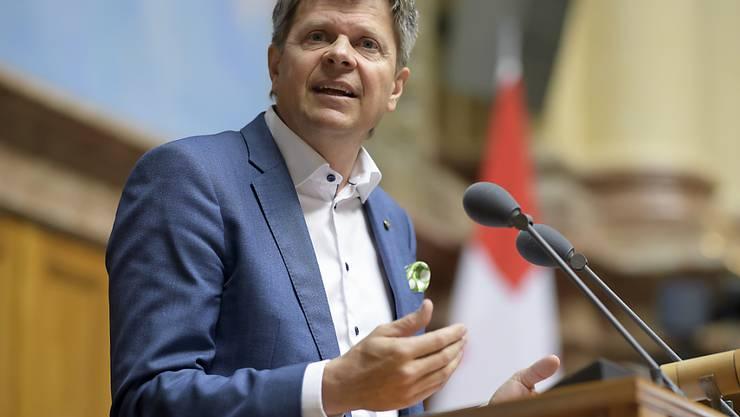 """Der Präsident der Grünliberalen, Jürg Grossen, sagt in einem Interview mit dem """"Blick"""", seine Partei sei durchaus sozial - er reagiert damit auf einen Angriff von der SP. (Archivbild)"""