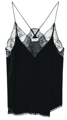Dieses Top ist von Zadig & Voltaire (circa 200 Franken). Günstige Modelle gibts auch bei Zara oder H&M.