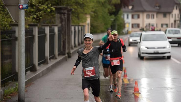 Die Läuferinnen und Läufer müssen sich knapp zwei Jahre auf den nächsten AARGAU Marathon gedulden.