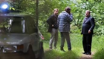 «Bestatter»-Dreh im Wald von «Morgenthal»