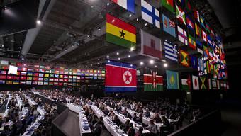 Zwei neue Mitglieder: Am FIFA-Kongress in Mexico-City wurden der Kosovo und Gibraltar als Mitglieder Nummer 210 und 211 in den Welt-Fussballverband aufgenommen