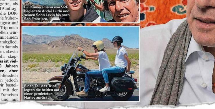 Lüthi und Sohn Levin genossen die von SRF finanzierten Ferien in Kalifornien. Im «Sonntagsblick» sprach der Reisebüro-Chef über sein Abenteuer.