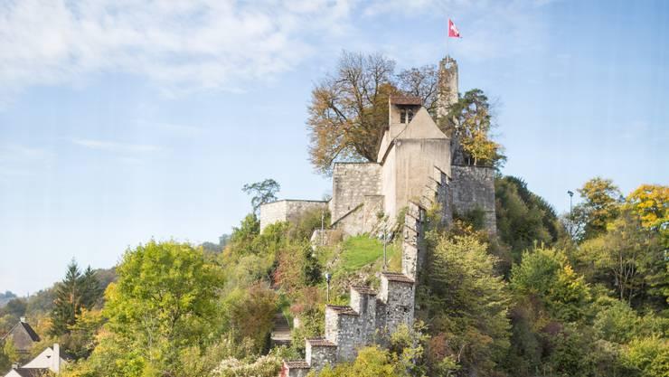 Altstadt: Blick auf das Schloss Stein.
