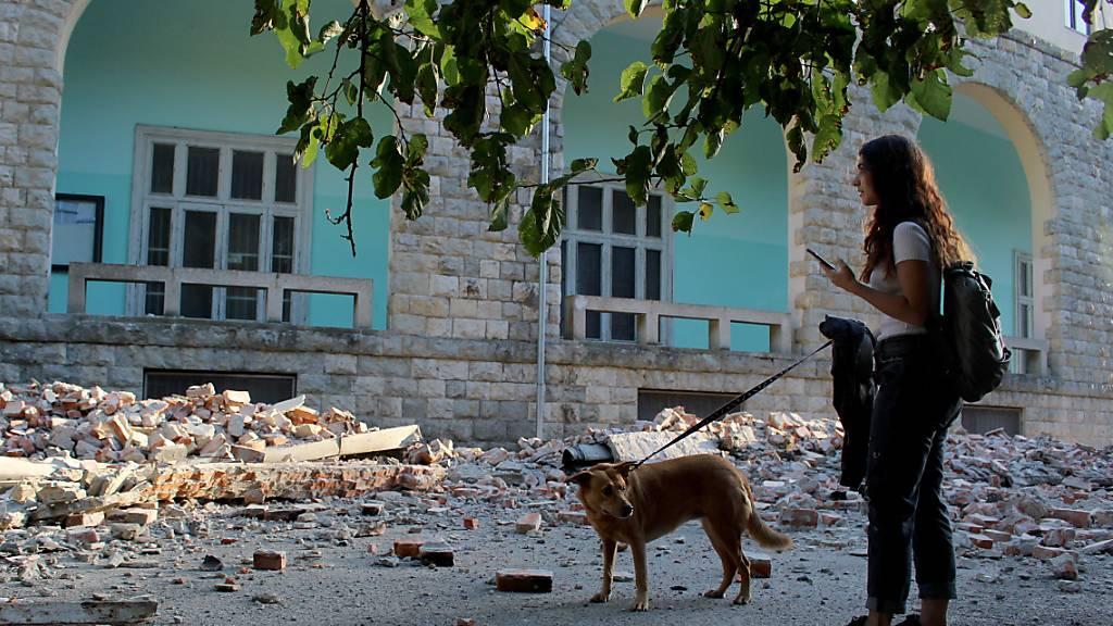 Starkes Nachbeben: Über hundert Verletzte in Albanien