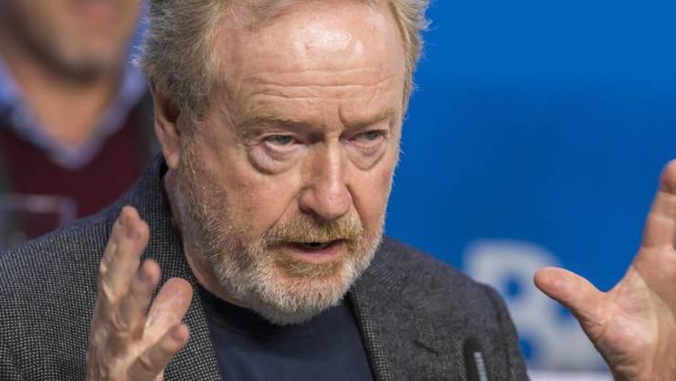 """Den """"Sir"""" hat Ridley Scott schon, nun bekommt er auch noch einen Stern auf dem Walk of Fame (Archiv Sept. 2015)."""
